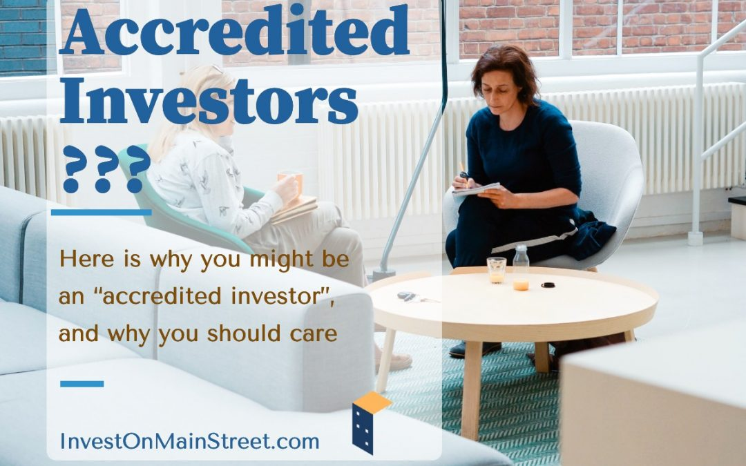 """Why you might be an """"accredited investor"""", and why you should care"""